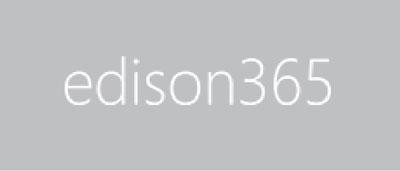 edison365 logo on grey