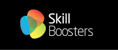 skill-boosters logo on black